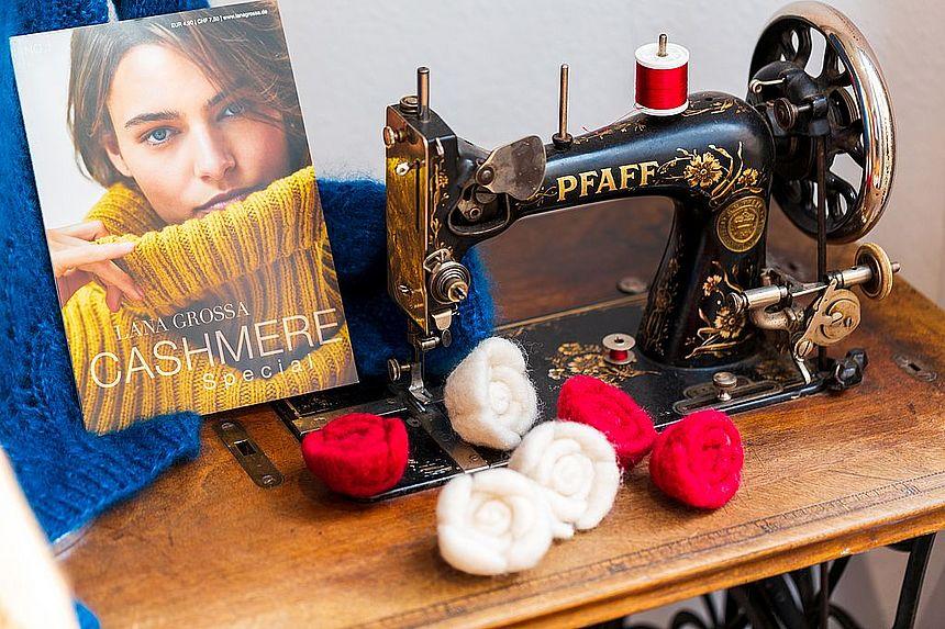 Traditionsmarke unter den Nähmaschinen